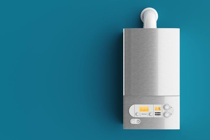 Installation de chaudière au gaz