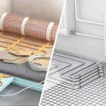 plancher chauffant électrique ou à l'eau chaude